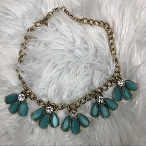 Banana Republic Blue Statement Necklace